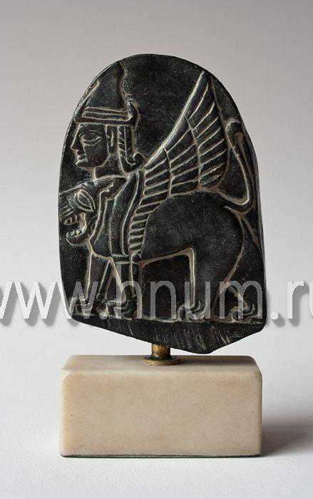 Декоративный скульптурный рельеф СФИНКС - Коллекция: Древняя Месопотамия