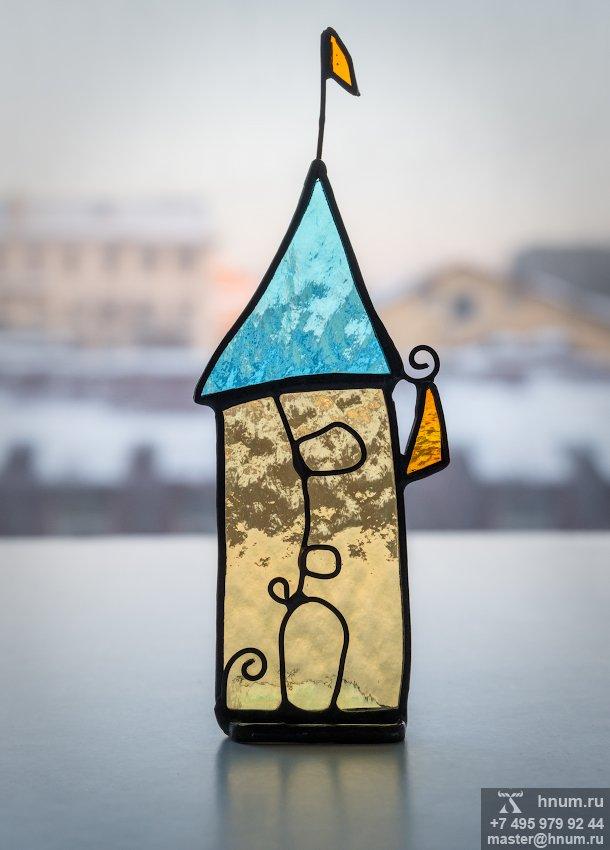 Витражные домики - коллекция Город и Архитектура - витражная мастерская ХНУМ